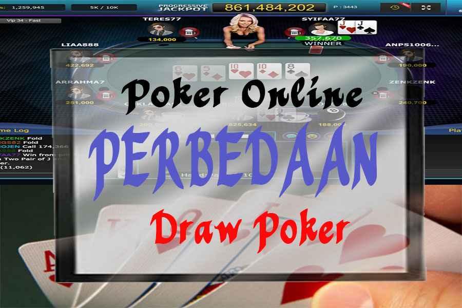 Perbedaan Cara Bermain Poker Sebenarnya Dengan Poker Online